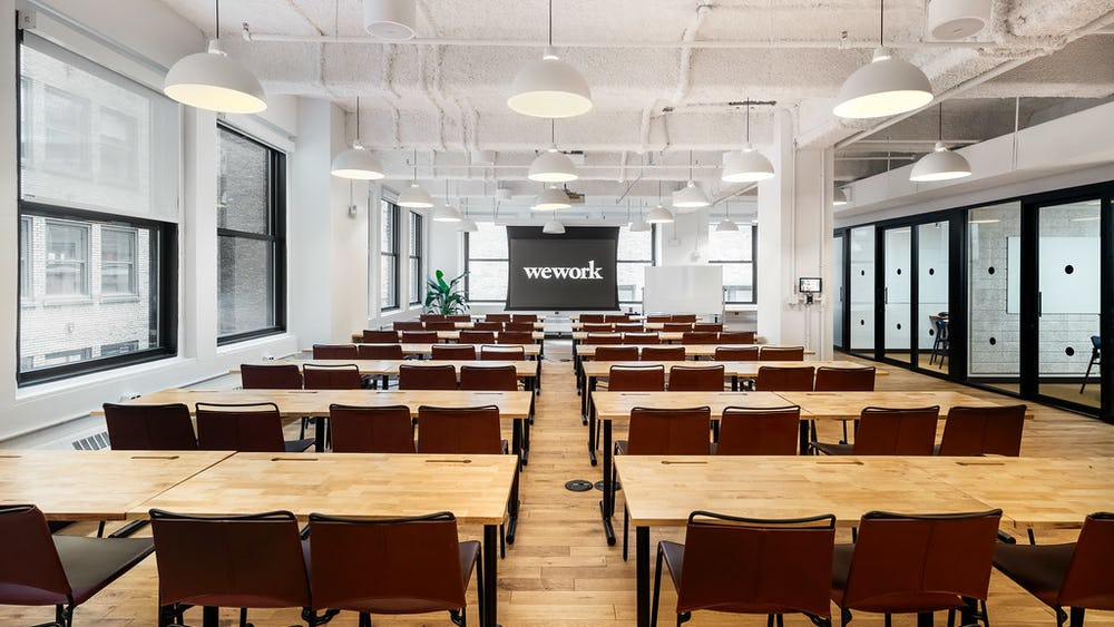 WeWork 500 7th Avenue, New York City, NY