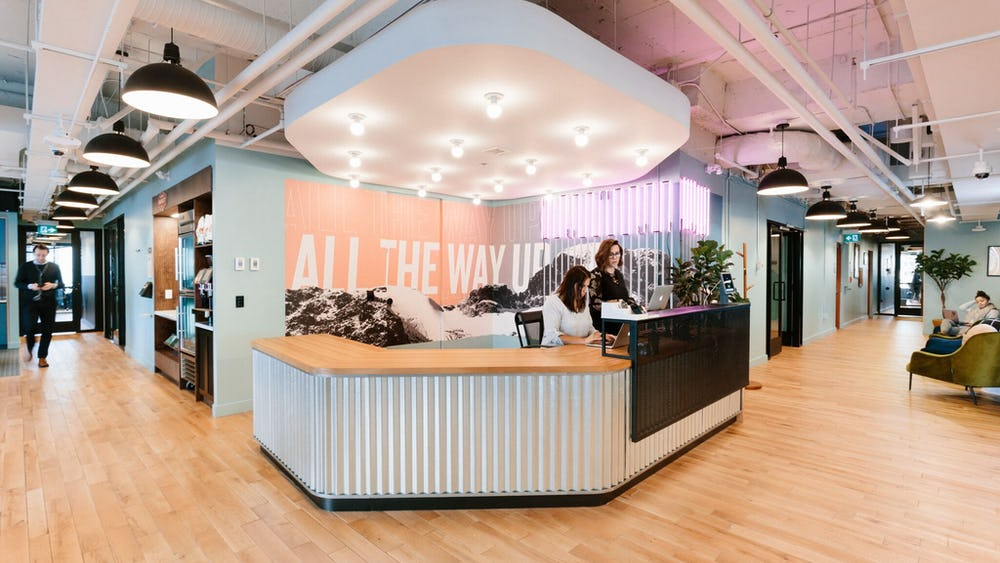 WeWork 500 7th Avenue, New York City, New York, États-Unis