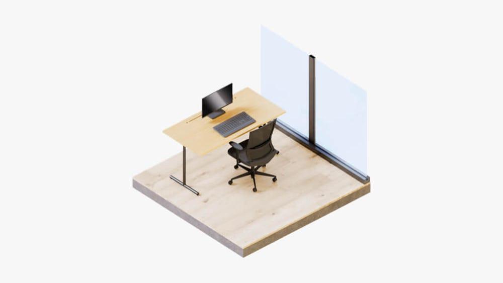 Vanilla Workspace - Dedicated Desk