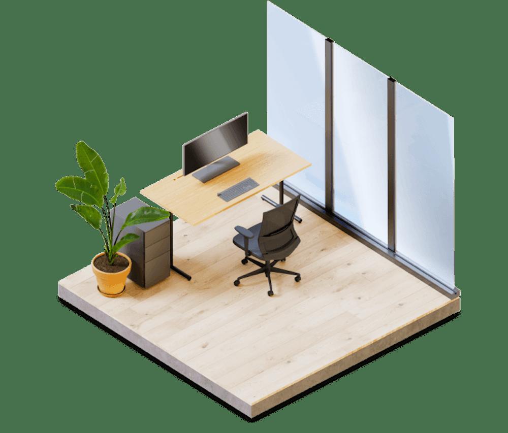 Dedicated Desk Product