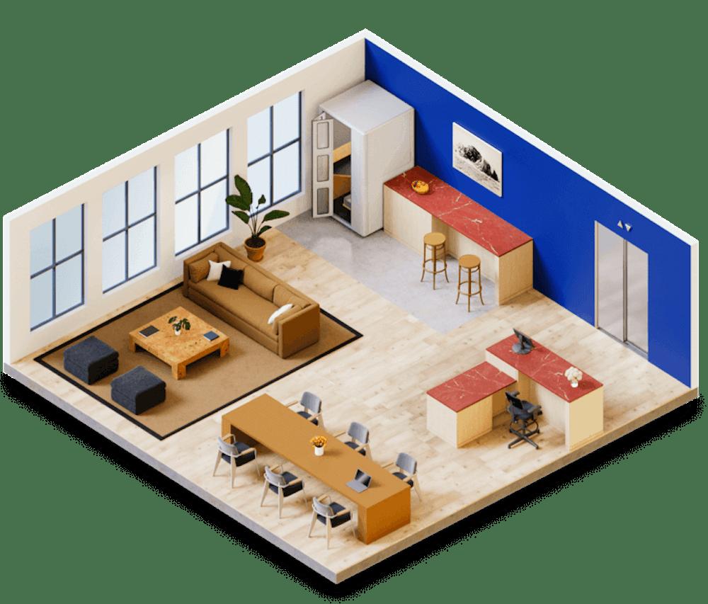 Full Floor Office Product