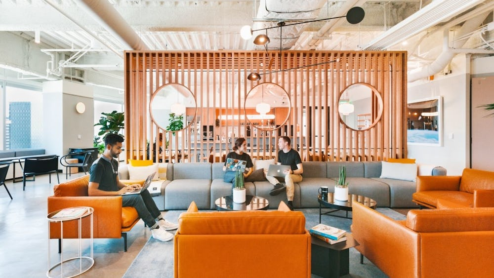WeWork at Constellation in Los Angeles, California