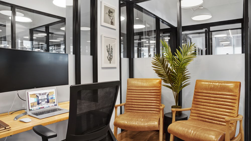 2 person office in New York City