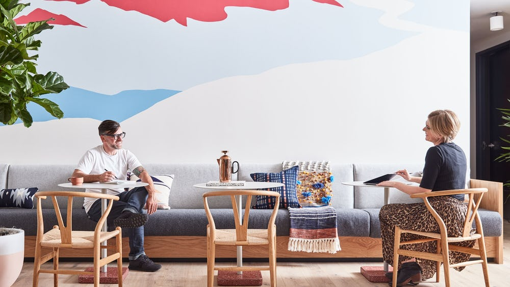 WeWork Lounge & Common Space