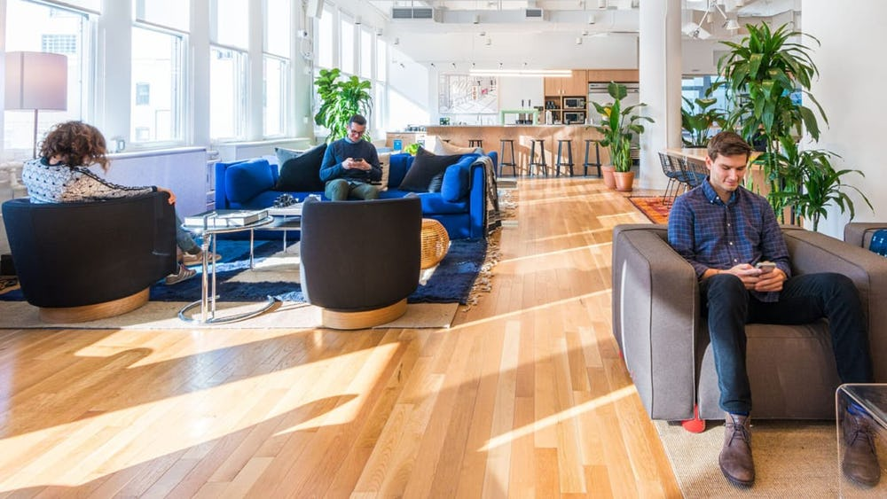 How WeWork updated our global spaces amid COVID-19