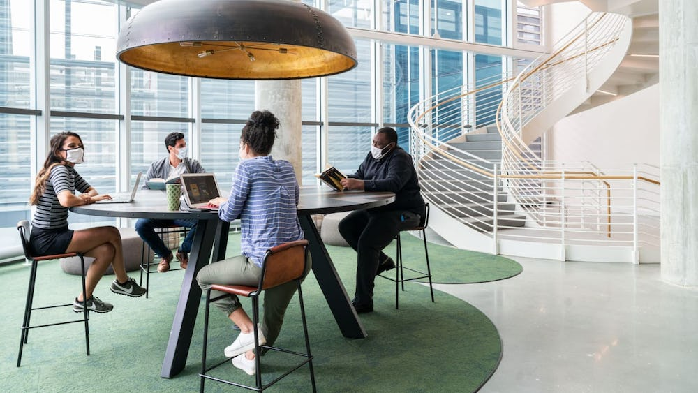 The impact of working from home on collaboration