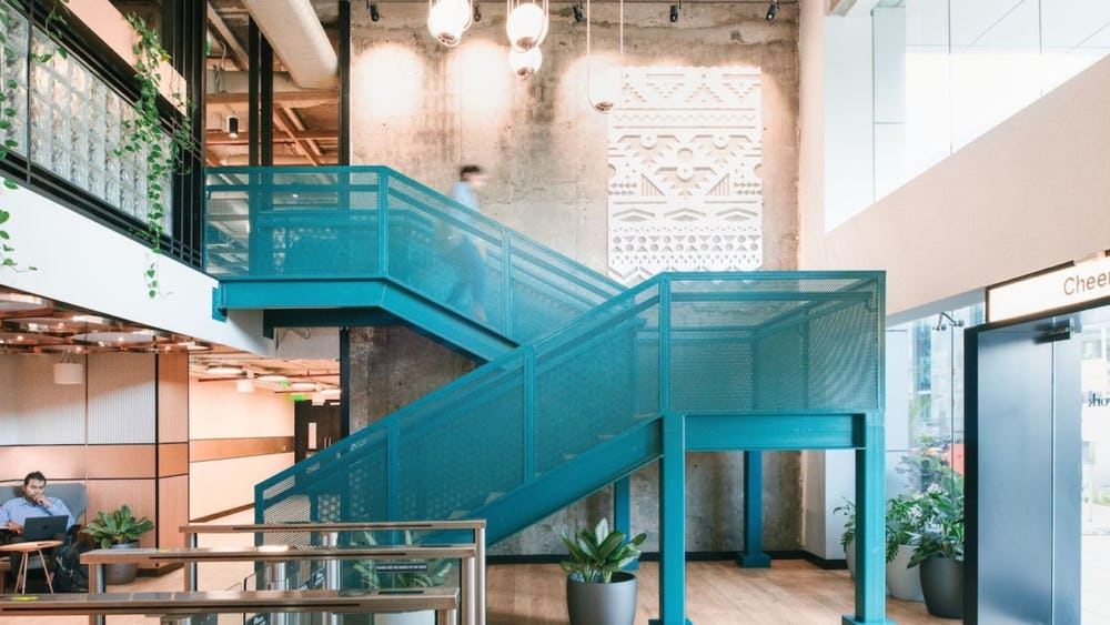[Homepage] 10 stunning staircases in WeWork locations around the world